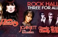 Rock Hall Three For All, la gira de Heart, Joan Jett & The Blackhearts y Cheap Trick