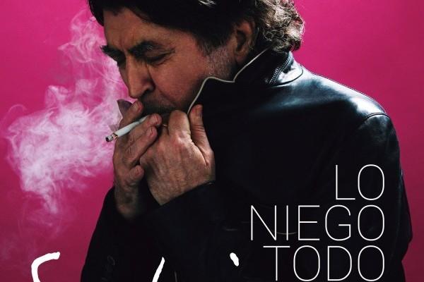 Joaquín Sabina, 5 semanas #1 en España, con 'Lo Niego Todo'