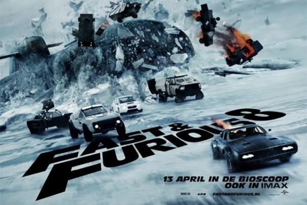 'The Fate of the Furious' no llega a los 100 millones en USA, pero es #1
