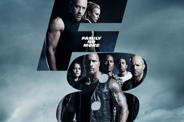 'The Fate of the Furious' película más taquillera de la historia, el primer fin de semana