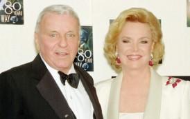 Fallece a los 90 años, Barbara Sinatra, cuarta y última mujer de Frank Sinatra