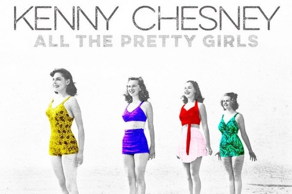 Kenny Chesney consigue su entrada 50 en el Billboard Hot 100, con 'All The Pretty Girls'