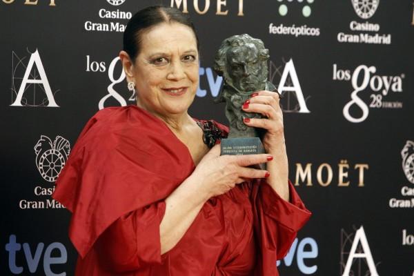 Fallece a los 78 años, la actriz Terele Pávez, ganadora del Goya