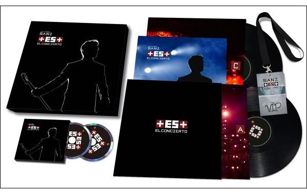 Alejandro Sanz publica el 8 de diciembre '+ES+ El Concierto', tracklist y todos los formatos