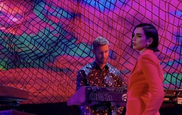Calvin Harris y Dua Lipa, estrenan su #1 en UK, 'One Kiss', en The Graham Norton Show