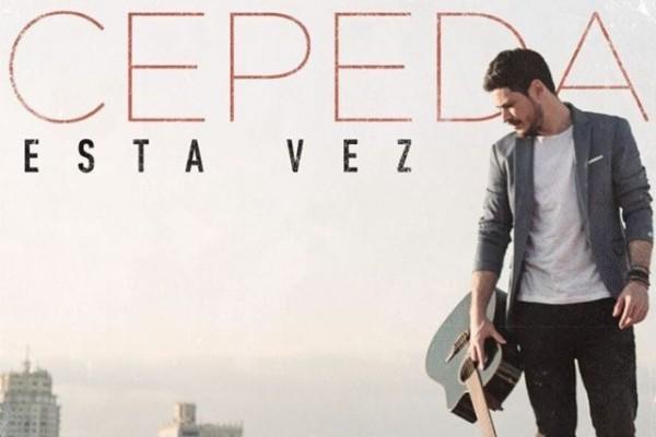 Cepeda consigue su primer #1 en España, con 'Esta Vez'